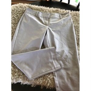 WHBM Grey Ankle Dress Pants Size 14